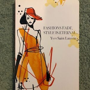 YSL Fashion Inspiration Journal